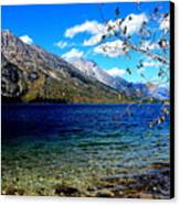 Jenny Lake Canvas Print by Carrie Putz