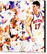 Jeremy Lin Canvas Print