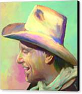 Jerry Jeff The Gypsy Songman Canvas Print by GCannon