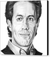 Jerry Seinfeld Canvas Print