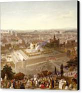 Jerusalem In Her Grandeur Canvas Print by Henry Courtney Selous