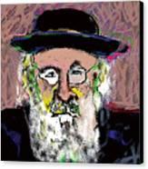Jerusalem Man No. 2 Canvas Print