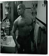 Jesse After Shaving His Head Canvas Print