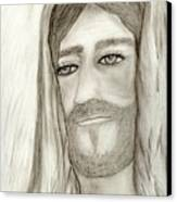 Jesus Canvas Print by Sonya Chalmers
