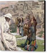 Jesus Wept Canvas Print by Tissot