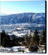 Jewel Of The Okanagan Canvas Print by Will Borden