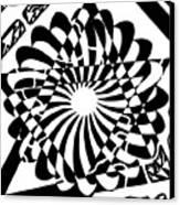 Jewish Pride Maze  Canvas Print