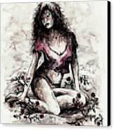 Jezebel Canvas Print