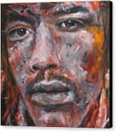 Jimi Hendrix Manic Depression Canvas Print by Eric Dee
