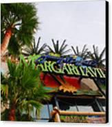 Jimmy Buffets Margaritaville In Las Vegas Canvas Print by Susanne Van Hulst
