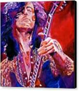 Jimmy Page Canvas Print