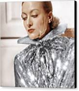 Joan Crawford, Photo By Hurrell, Ca Canvas Print by Everett