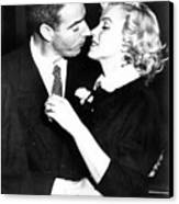 Joe Dimaggio, Marilyn Monroe Canvas Print