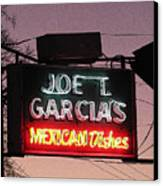 Joe T Garcia's Canvas Print by Shawn Hughes