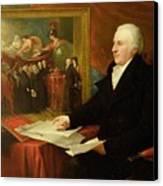 John Eardley Wilmot  Canvas Print by Benjamin West