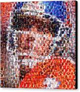John Elway Mosaic Canvas Print