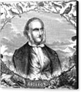 John James Audubon Canvas Print by Granger