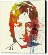 John Lennon Canvas Print by Naxart Studio