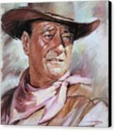 John Wayn Canvas Print