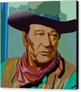 John Wayne Canvas Print by John Keaton
