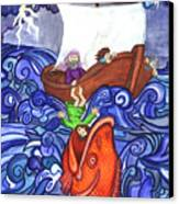 Jonah Canvas Print by Sherry Holder Hunt