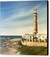 Jose Ignacio Lighthouse Evening Canvas Print