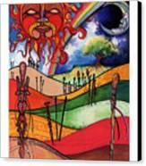 Journey Canvas Print by Anthony Burks Sr
