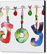 Joy Canvas Print by Becky Kim