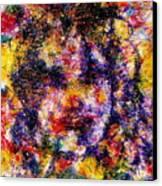Joyful Clown Canvas Print