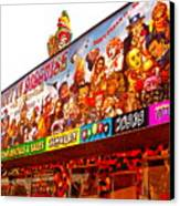 Joys Of Shopping 2 Canvas Print