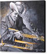 Jr. Brown Canvas Print