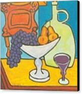 Jug Of Wine Canvas Print