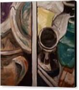 Jugs Canvas Print by Mikayla Ziegler