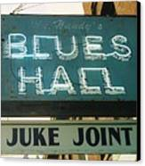 Juke Joint Canvas Print