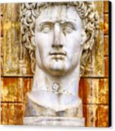 Julius Caesar At Vatican Museums 2 Canvas Print by Stefano Senise