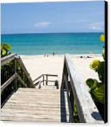 Juno Beach Florida Canvas Print