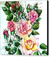 Just Roses Canvas Print