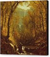 Kaaterskill Falls Canvas Print