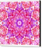 Kaleido Red Rubi 8 Canvas Print
