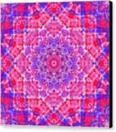 kaleido-Rubiat-3D Sq 53d Kwilt Canvas Print