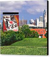 Kansas City Sky Line Canvas Print