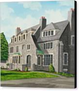Kappa Delta Rho South View Canvas Print