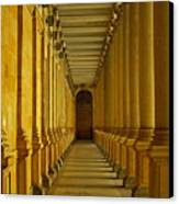 Karlovy Vary Colonnade Canvas Print by Juergen Weiss