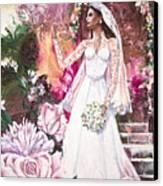 Kate The Princess Bride Canvas Print by Patricia Allingham Carlson