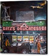 Katz Deli Canvas Print