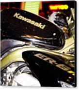 Kawasaki Canvas Print by Stelios Kleanthous