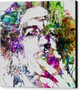Keith Richards Canvas Print by Naxart Studio