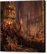 Keldon Megolith Canvas Print