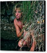 Kelly Nude Canvas Print