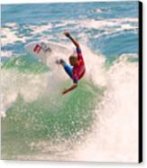 Kelly Slater  Us Open Of Surfing 2012     7 Canvas Print by Jason Waugh
